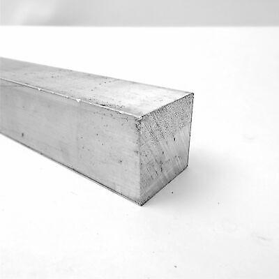 1.75 X 1.75 Aluminum 6061 Square Solid Flat Bar 24 Long Sku A419