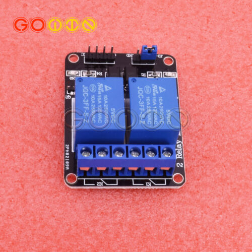 2pcs 5V Two 2 Channel Relay Module With optocoupler For PIC AVR DSP ARM Arduino