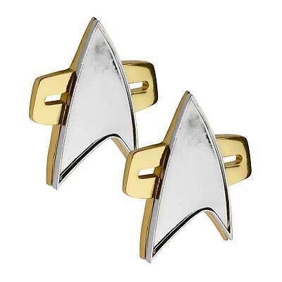 Metall Star Trek Voyager Abzeichen Trekkie Communicator Paar - 2 Paar Kostüme