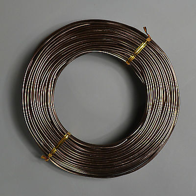 Bonsai-Draht, 500 gr., 2 mm, Aluminium braun eloxiert