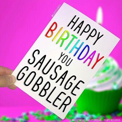 Birthday Greeting Cards Rude Offensive Funny Best Friend Girlfriend Jokes
