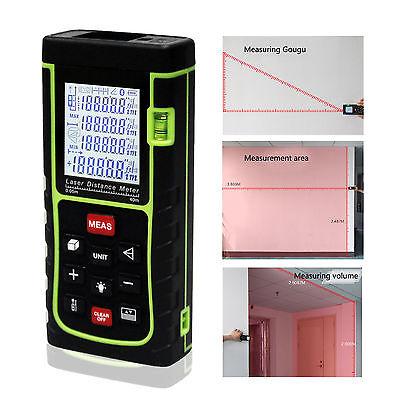 40m131ft1575in Digital Laser Distance Meter Range Finder Measure Diastimeter C