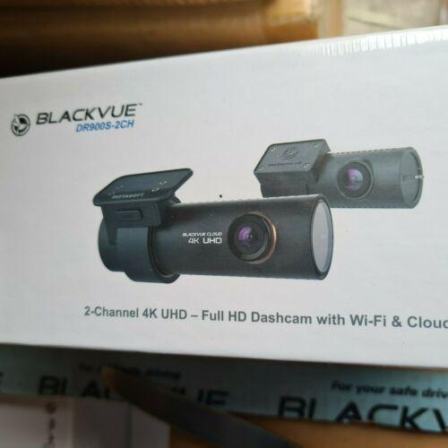 BlackVue Dr900s-2ch 4k UHD Cloud Wi-fi GPS 16gb Dash-cam