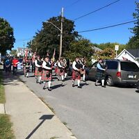 Brighton pipes and drums