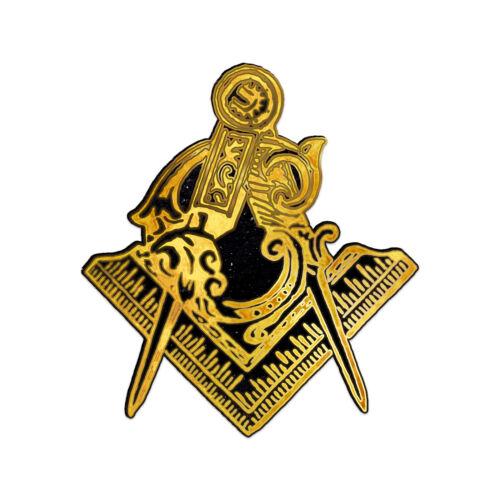 Square & Compass Masonic Bumper Sticker - [5