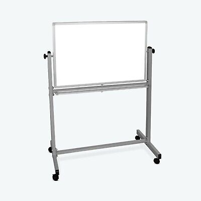 Offex Double Sided Reversible Dry Erase Magnetic Whiteboard - 36w X 24h
