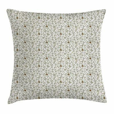 Birds Throw Pillow Cases Cushion Covers Ambesonne Accent Dec