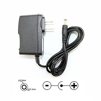 AC DC 100-240V 12V 1A Power Supply Adapter Charger For 3528 5050 LED Strips US