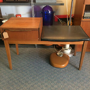 Mid Century Phone Table Fremantle Fremantle Area Preview