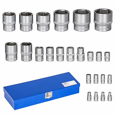 Juego de llaves de vaso maletin herramientas 24 piezas Torx hexagonales carraca