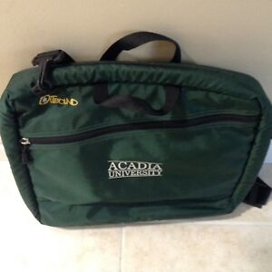 'OUTBOUND' ACADIA  UNIVERSITY LAPTOP BAG LIKE NEW