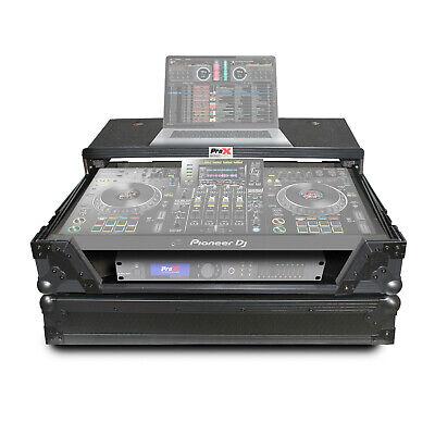 ATA Road Case Laptop Shelf Fit Pioneer XDJ-XZ DJ System All Black by Prox