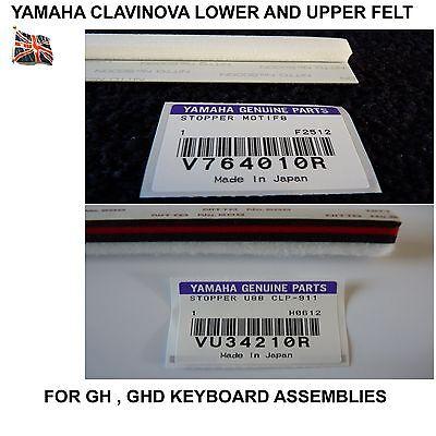 Yamaha Clavinova Felt Pair CVP-107 CVP-109 CVP-103 CVP-103M CVP-105 CVP-92 for sale  Shipping to Canada