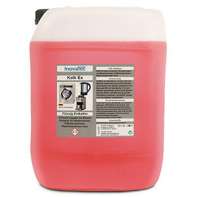 10 Liter KalkEX - Kalklöser flüssig Entkalker Zitronensäure  Kalk Löser