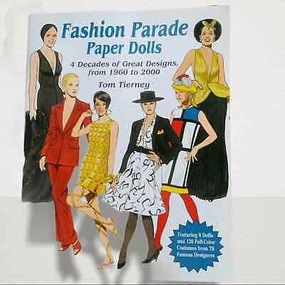 Tom Tierney Fashion 1960-2000 Parade VTG Paper Dolls Book Uncut