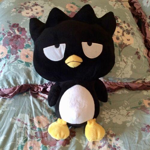 "SANRIO Hello Kitty & Friends Badtz Maru Stuffed Animal Penguin 15"" Plush"