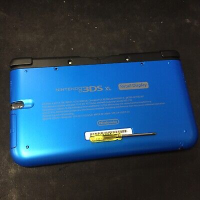 Nintendo 3DS XL System SPR-001-02 Retail Display Kiosk Special BEST BUY