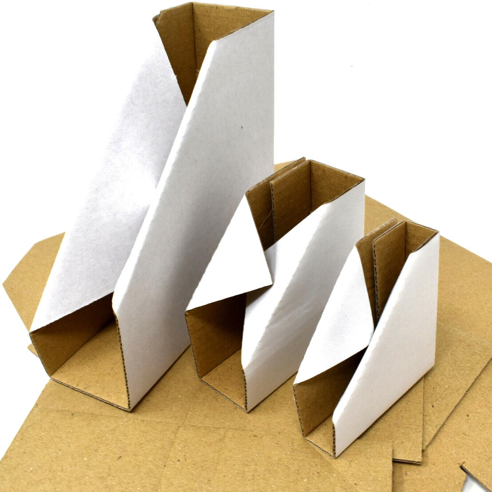 White Cardboard Corner Protectors Photo Frames Pictures Canvas Mirror Board Ebay