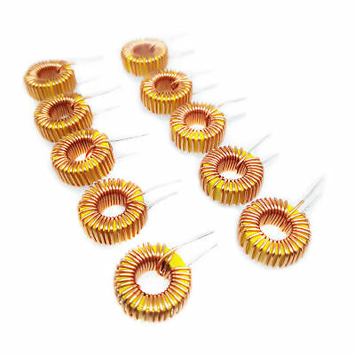 Us Stock 10pcs 100uh 101 3a Amp Coil Wire Wrap Toroid Inductor Choke New