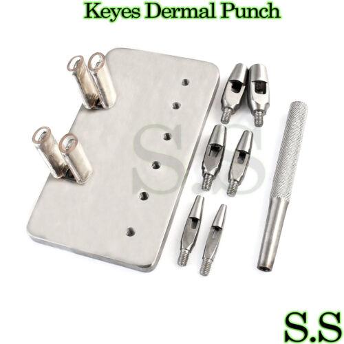 "KEYES Dermal Punch 4"" Set Dermatology Surgical Instruments"