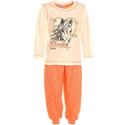 Mädchen Schlafanzug Zweiteiler (Mädchen Zweiteiler langer Schlafanzug *NEU* M189a)