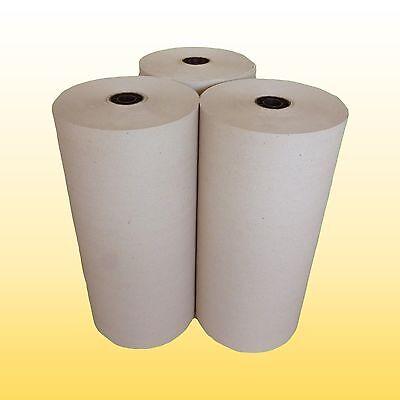 3 Rolle Schrenzpapier Packpapier 50 cm breit x 200 lfm 100 gm²  1Rolle=10kg