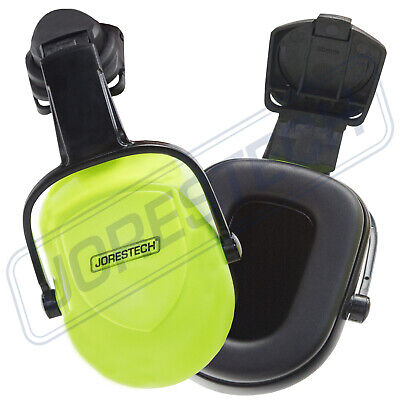 Jorestech Clip On Ear Muff Protector Hard Hat Mounting Ear Muff Nrr 25db