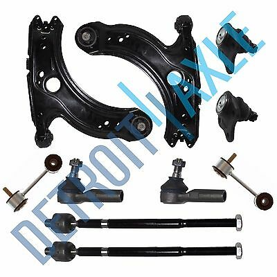 Volkswagen Beetle Golf Jetta Front Lower Control Arm Ball Joint Tie Rod Sway Bar