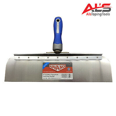 Advance Drywall Offset Taping Knife 14 Stainless Steel