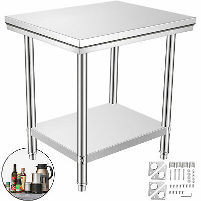 24 X 36 Stainless Steel Kitchen Work Table Commercial Restaurant Table