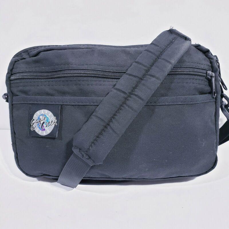 Eagle Creek Vintage Crossbody Bag Waist Pack Fanny Pack Black Travel Adventure