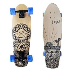 Cruiser Skateboard - Wanderlust edition by Gold Coast Longboards