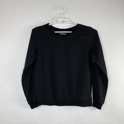 Lou Lou Damen Pullover (Lou & Grey Damen Pullover Hemd GRÖSSE XS Schwarz Langärmlig)