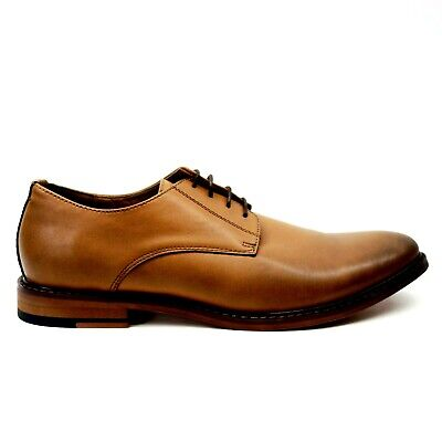 New J75 By Jump Pablano Mens Rubber Bottom Brown Casual Dress Shoes US 9 EU 42