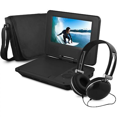 "Onn ONA16AV008 7"" Portable DVD Player w/ Headphones 4-HR Battery 90-day Warranty"