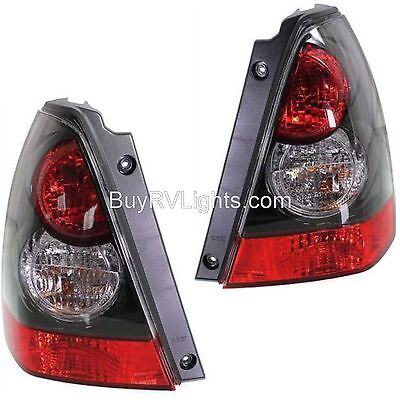 FLEETWOOD DISCOVERY 2014 2015 2016 BLACK TAIL LIGHTS TAILLIGHTS REAR LAMPS PAIR