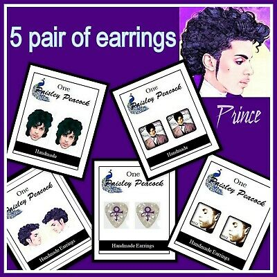 Artist Formally Known As Prince (The Artist Formally Known As PRINCE Earrings Set Rogers)