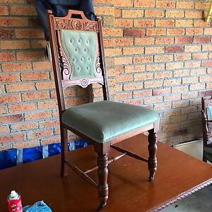 Edwardian table and chairs Skye Frankston Area Preview