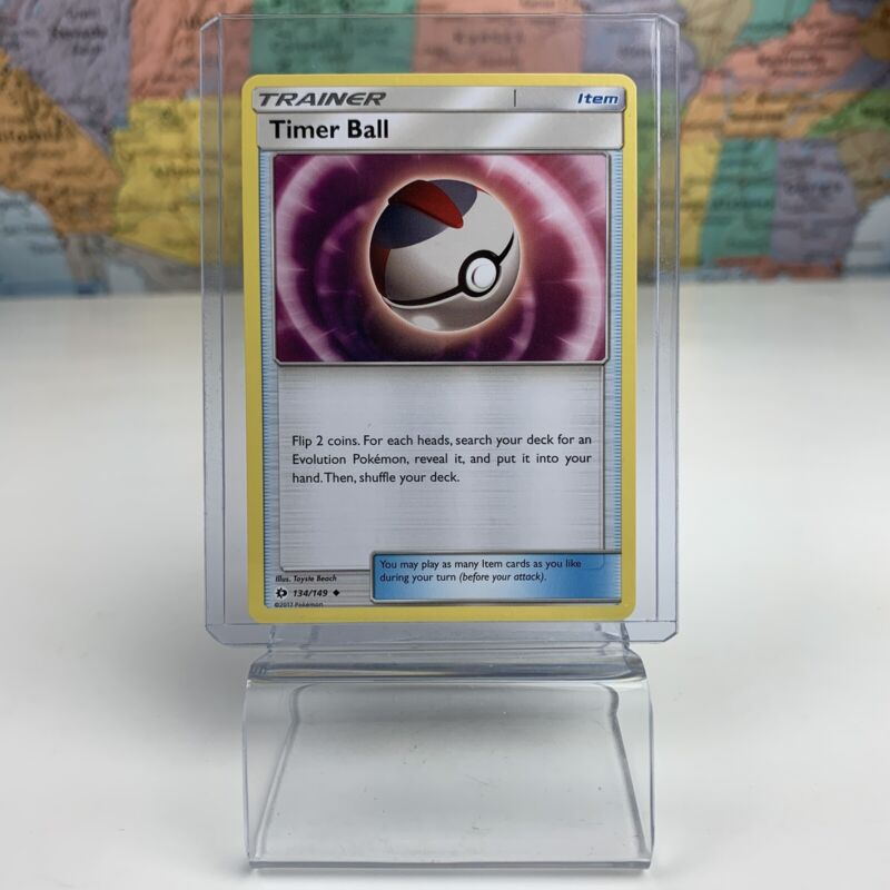 4X Timer Ball 134//149 Pokemon Online Card TCG PTCGO Digital Card