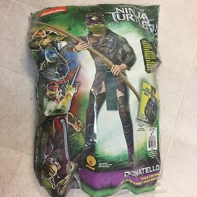 Teenage Mutant Ninja Turtles Halloween Costume Rubies Donatello Kids Small  4-6