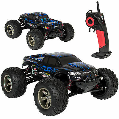 1/12 Scale 2.4GHZ Remote Control Truck Electric RC Car High Speed Monster Black