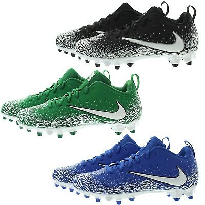 Nike 880319 Mens Vapor Varsity Low Top Turf Designed Football Cleats Shoes