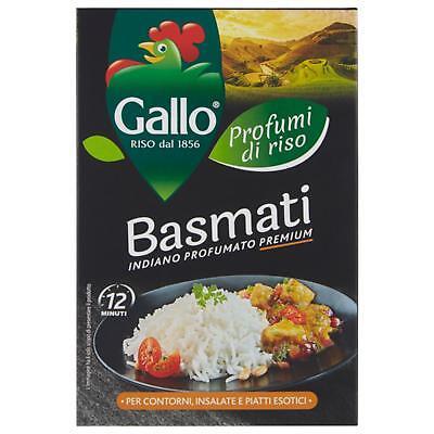 Arroz Basmati Gallo 500Gr Pasta Chicco Largo Delgado Y Indio Perfumado Premium