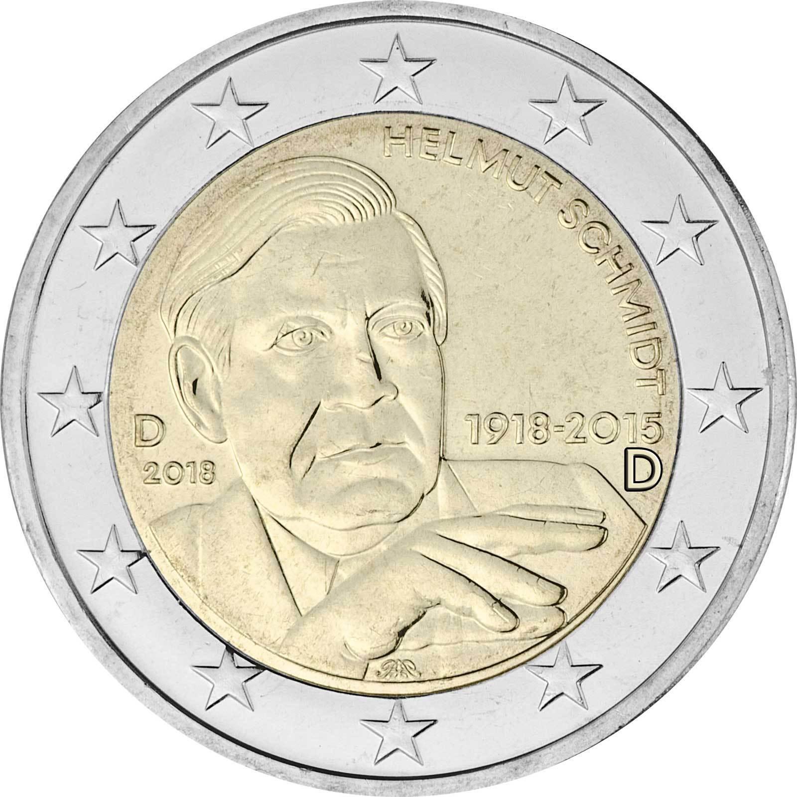 2 Euro Gedenkmünze Deutschland 2018 Schloss Charlottenburg Berlin
