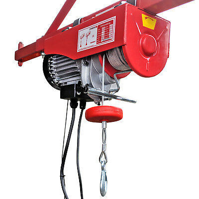 Elektrische Seilwinde Seilhebezug CROSSFER PA400A Kran Winde Hebezeug 400Kg NEU