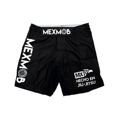 MEXMOB HECHO EN BJJ MMA JIU JITSU GRAPPLING BOX FIGHT SHORT Brazilian Jiu Jitsu Shorts