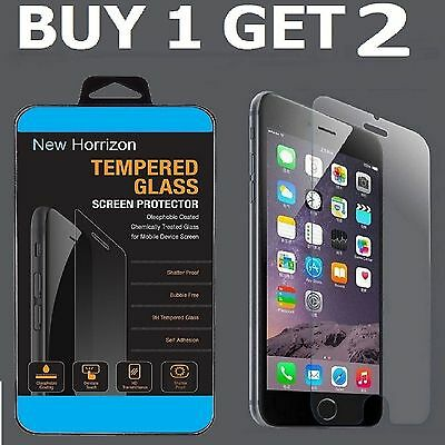 100% GENUINE TEMPERED GLASS FILM SCREEN PROTECTOR PROTECTION FOR APPLE IPHONE 7