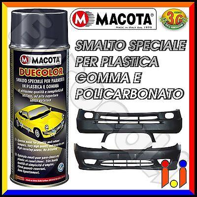 MACOTA Duecolor Vernice Spray per Plastica e Gomma Smalto Acrilico 400ml Tuning