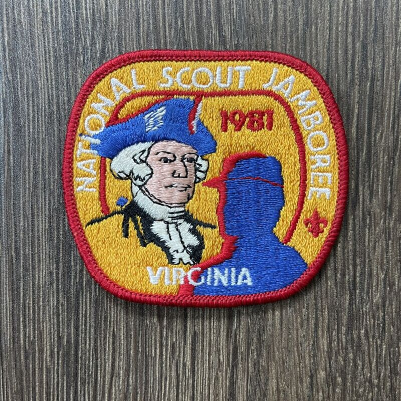 1981 National Scout Jamboree Virginia Patch Boy Scouts of America BSA