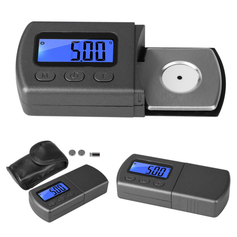 Digital LED Cartridge Scale Gauge 0.01g Tracking Force Turntable Stylus Tonearm